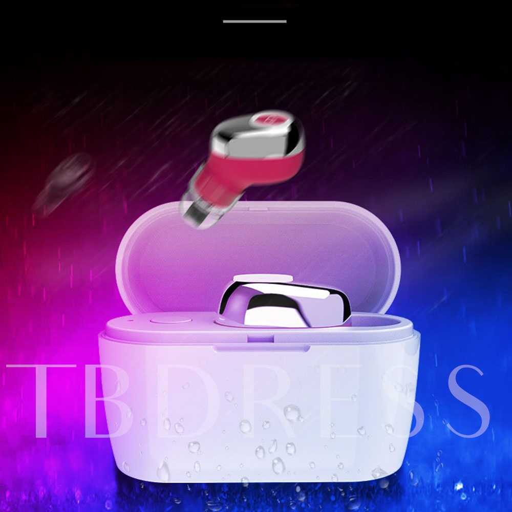 E6 Bluetooth Earphone Wireless Sports Headphones Mini Headset Mic Wireless Earbuds with Charging Box for iPhone Android Huawei