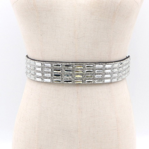 Bling Full Drill Fashion Women Belts