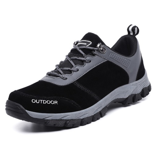 Low-Cut Upper Lace-Up Round Toe Men's Outdoor Shoes