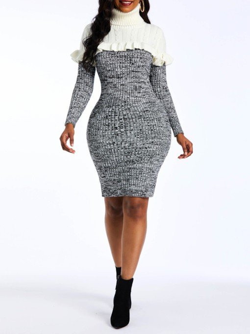 f3e39742945 Long Sweater Dresses - Dress Foto and Picture