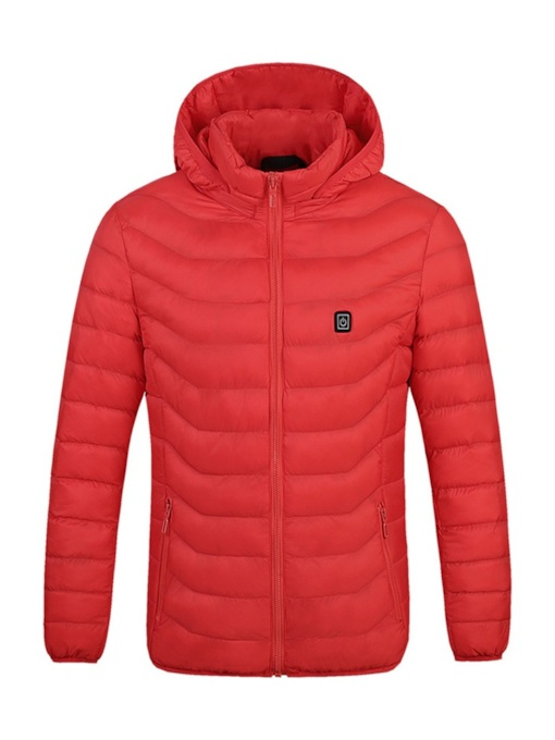 Plain Slim Men's Down Jacket