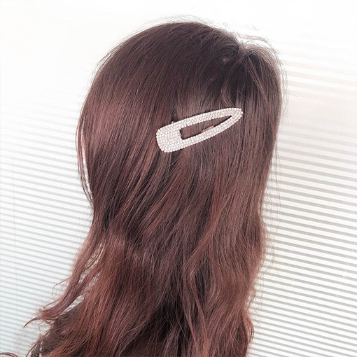 Full Drill Barrette Hair Pin