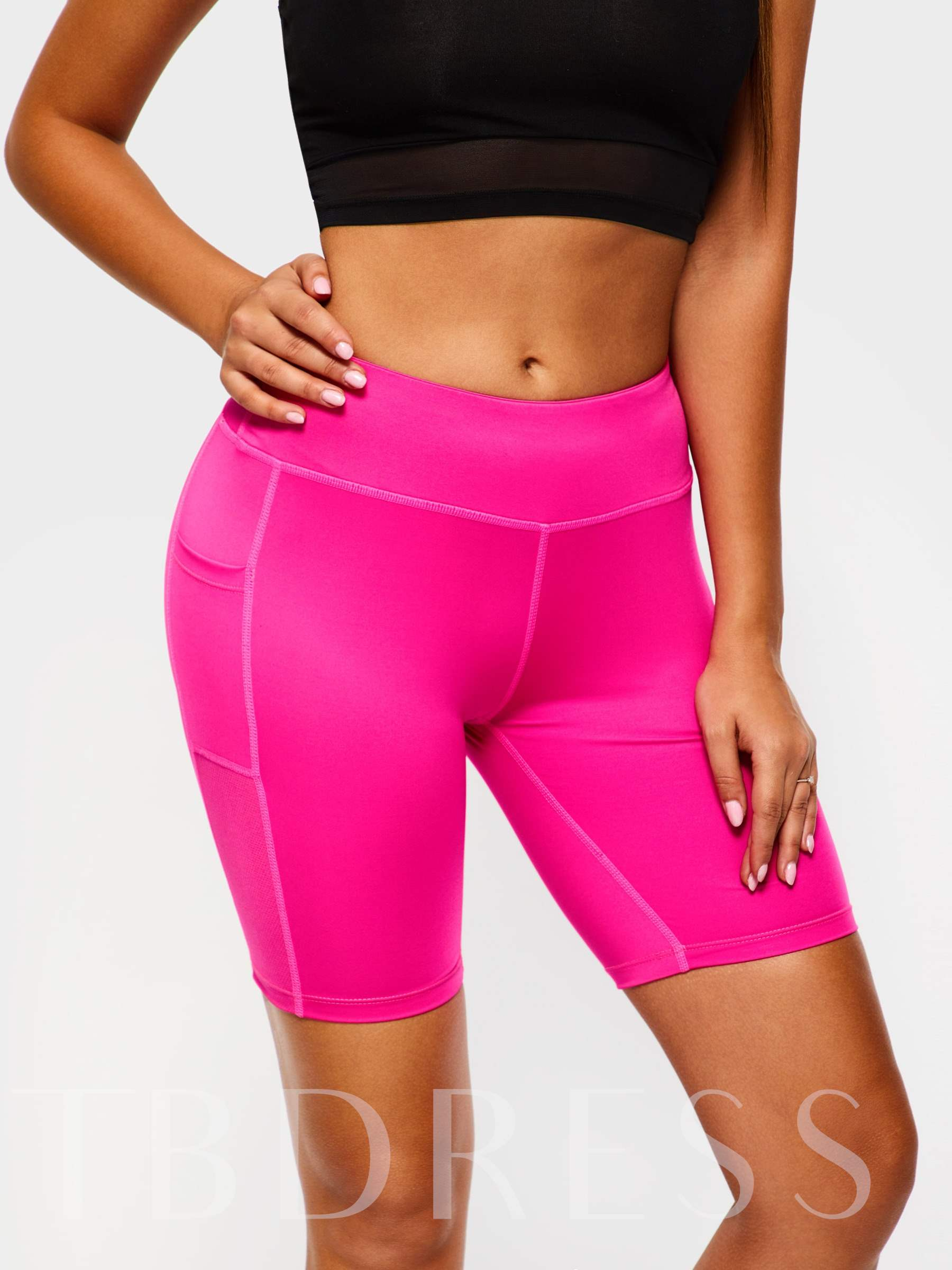 Pockets Anti-Sweat Women's Sports Shorts
