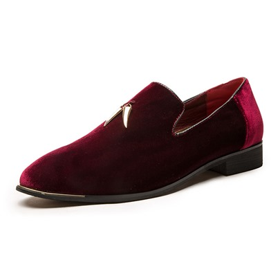 Low-Cut Upper Plain Slip-On Round Toe Mens Prom Shoes Low-Cut Upper Plain Slip-On Round Toe Men's Prom Shoes