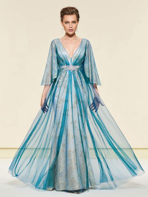 Lace Mother of the Bride Dress 2019 with Sleeves