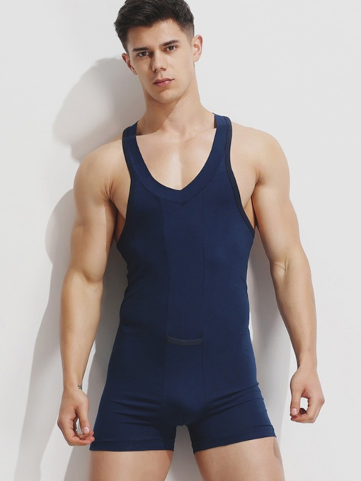 Plain Spaghetti Strap Shaping Bodysuit