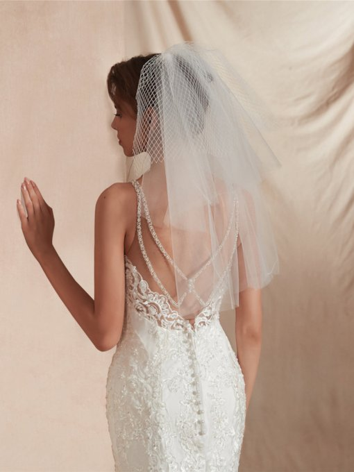 Multi-Layer Short Bridal Veil