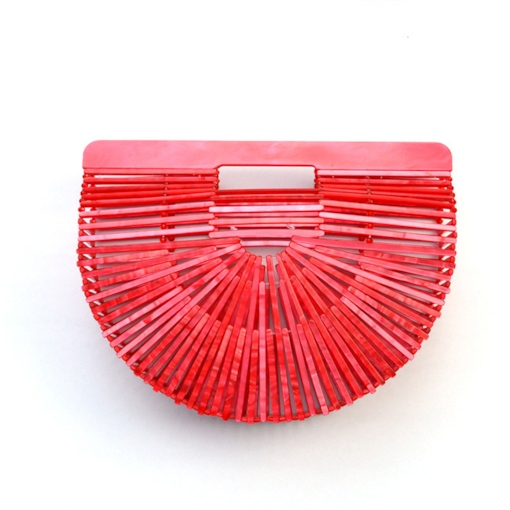 Casual Acrylic knitted Hollow Bags
