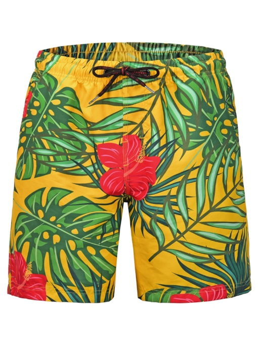 3D Straight Men's Beach Shorts