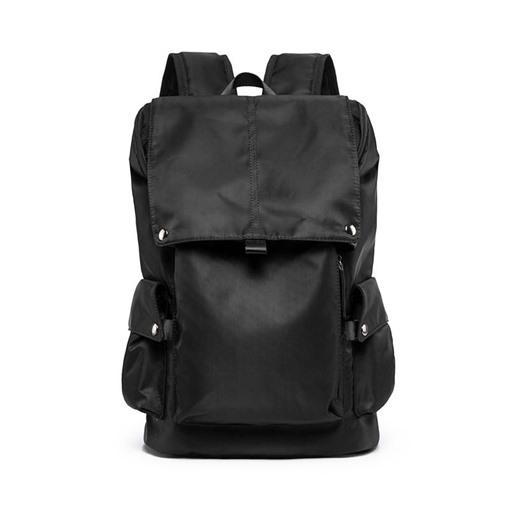 Thread Plain Nylon Men's Backpacks
