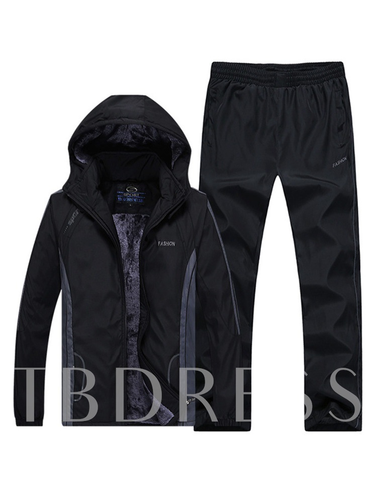 Jacket & Pants Casual Men's Sports Suit