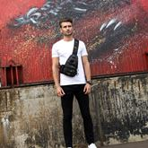 Occident Style Huge Space Men's Army Bag