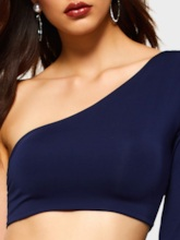 Plain Date Night Skirt Pullover Women's Two Piece Sets