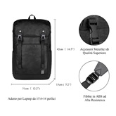 Polyester European Plain Backpack Laptop Bags
