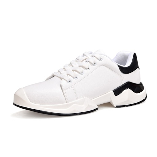 Low-Cut Upper Lace-Up Round Toe Fashion Men's Sneakers