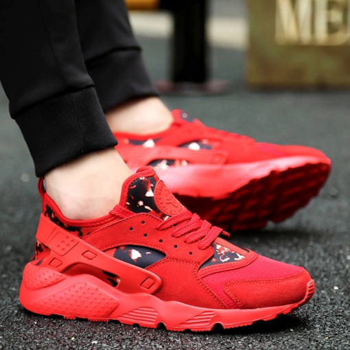 Women's Classic Figured Cloth Lightweight Sneakers Fashion Running Shoes