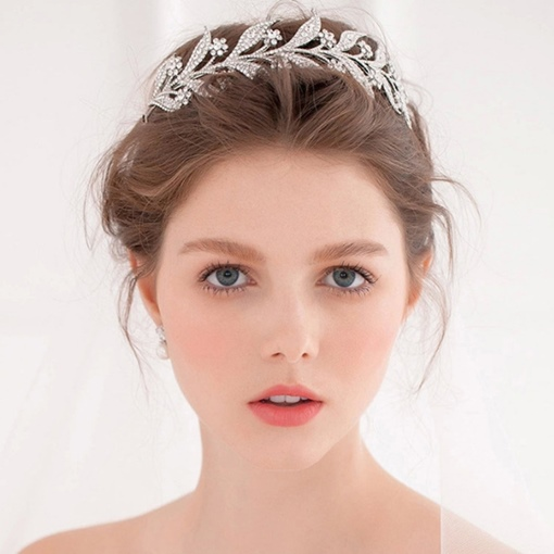 Hairband Diamante Korean Wedding Tiara