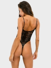 Hollow Tight Wrap See-Through Bodysuit