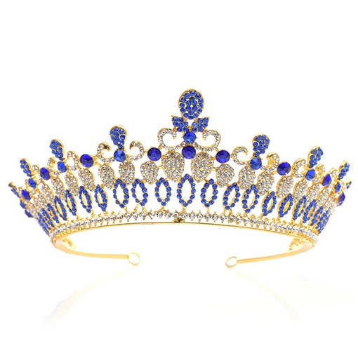 Diamante Tiara European Crown Wedding Tiara