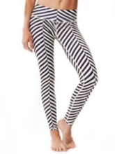 Women's Plus Size Zebra Stripe Breathable Print Leggings