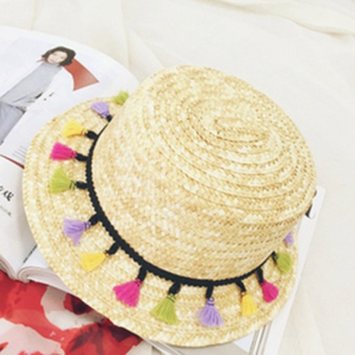 Straw Plaited Article Summer Beach Hat