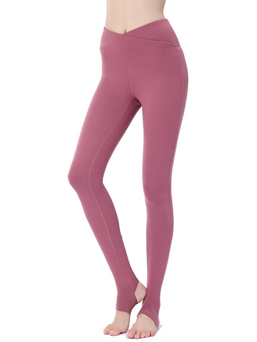 Anti-Sweat Solid Spandex Summer Full Length Female Pants