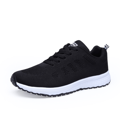 Sports Flat With Lace-Up Low-Cut Upper Mesh Sneakers for Men