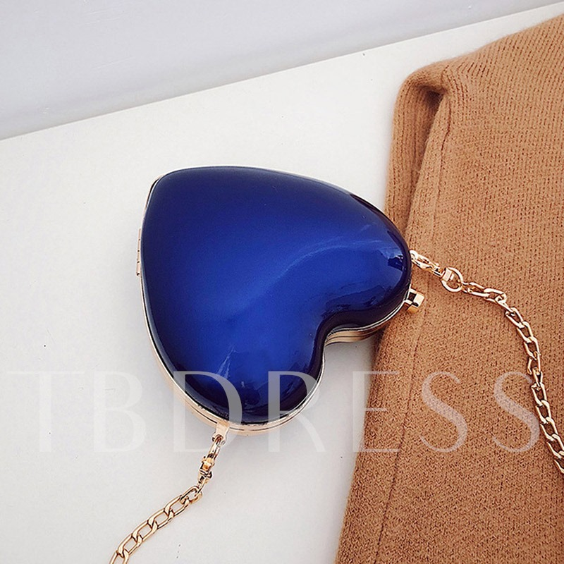 Casual Plain Chain PU Crossbody Bags