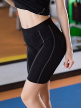 Plus Size Anti-Sweat Quick Dry Breathable Women's Sports Shorts