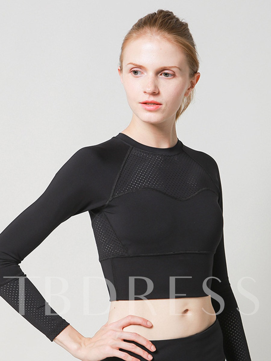 Breathable Quick Dry Long Sleeves Women's Tees