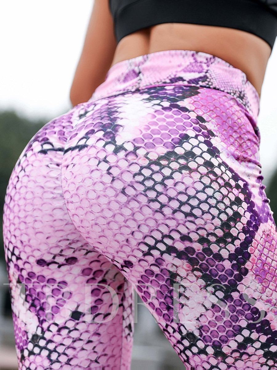 Serpentine Quick Dry Sports Leggings for Women