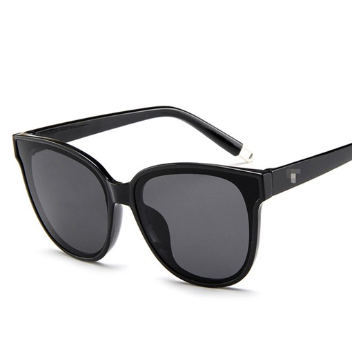 Cat Eye Shape Resin Sunglasses