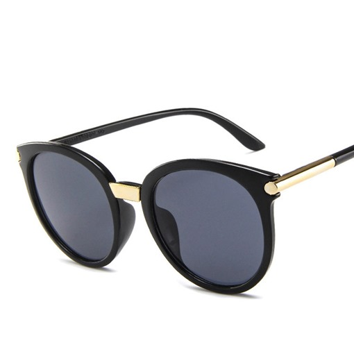 Cat Eye Resin Fashion Sunglasses