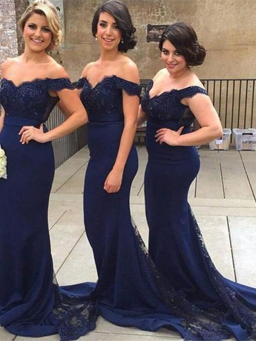 Mermaid Lace Bridesmaid Dress 2019