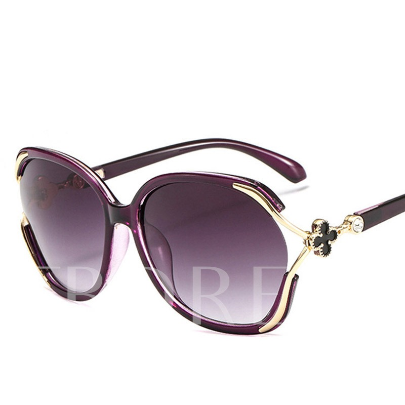 Fashion Resin Wrap Sunglasses
