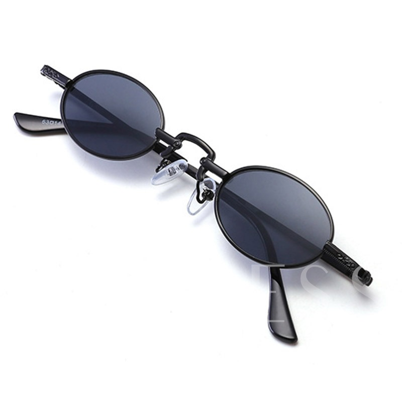 Poly Carbonate Fashion Oval Sunglasses