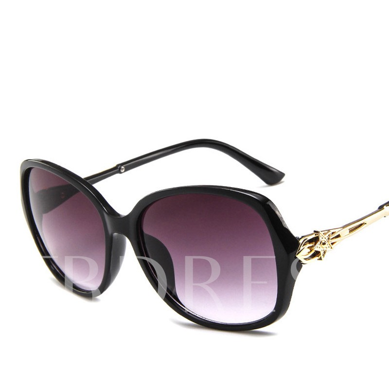 Resin Frame Poly Carbonate Square Sunglasses