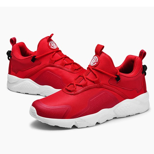 Mid-Cut Upper Lace-Up Round Toe Breathable Men's Sneakers