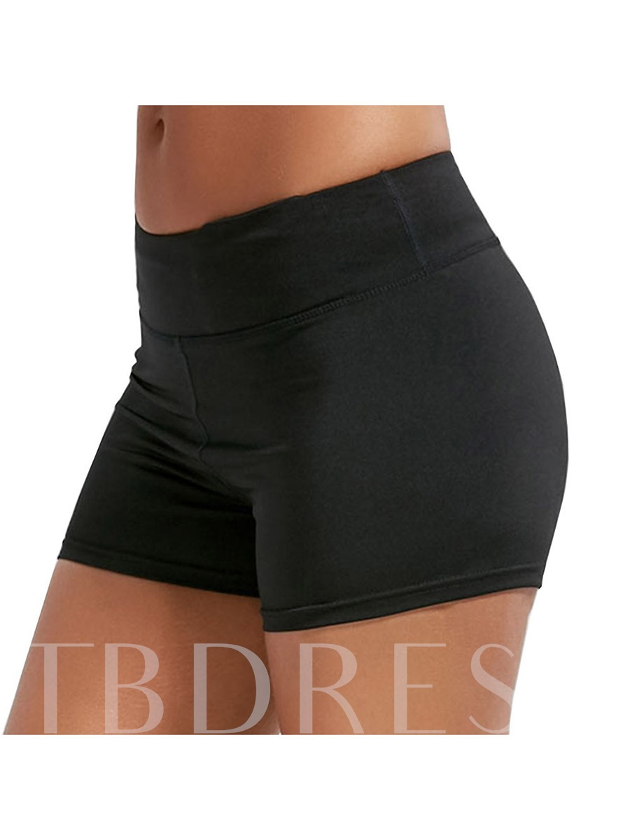 Solid Summer Women's Plus Size Shorts