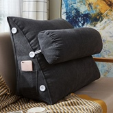 Simple Bedside Triangle Backrest Bay Window Long Pillow Large Cushion