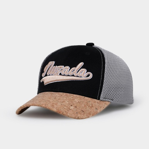 Letter Embroidery Cotton Mesh Baseball Hat