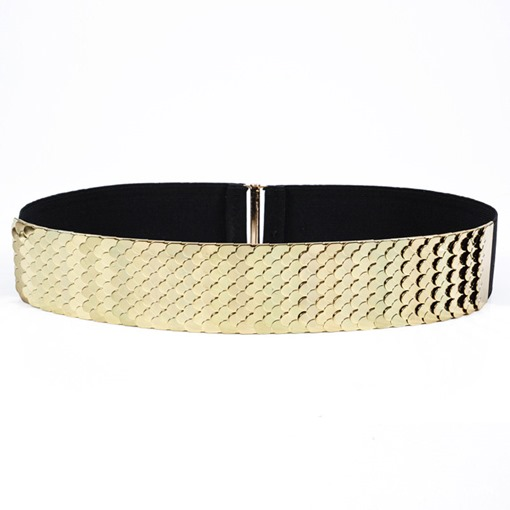 Newly Women Waist Band Metal Chain Wrap Waist Belt