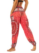 Dashiki Print Women's Harem Pants