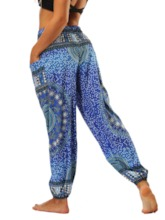 Dashiki Print Yoga Women's Harem Pants