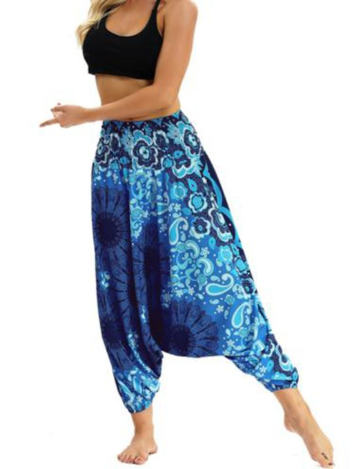 Dashiki Wide Leg Lounge Women's Pants