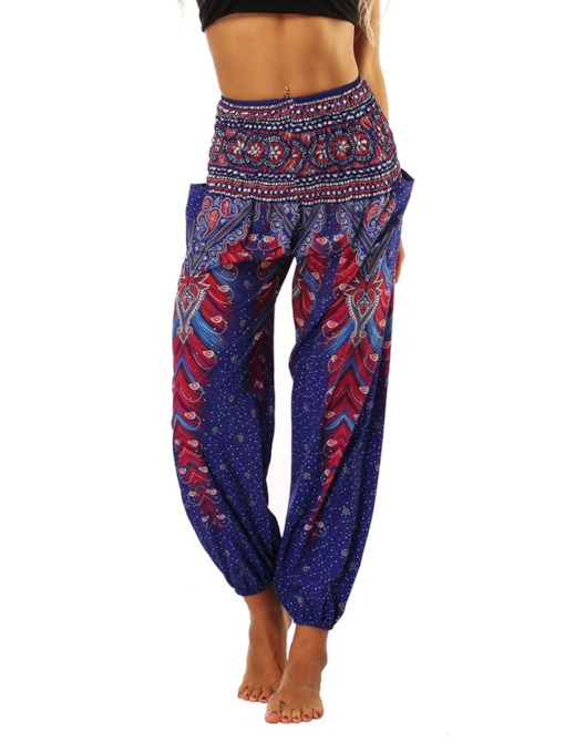 Dashiki Casual Loose Women's Harem Pants