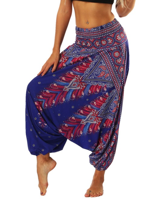 Dashiki Low Crotch Pants Sports Bloomers