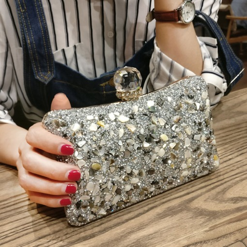 Rhinestone Banquet Clutches & Evening Bag