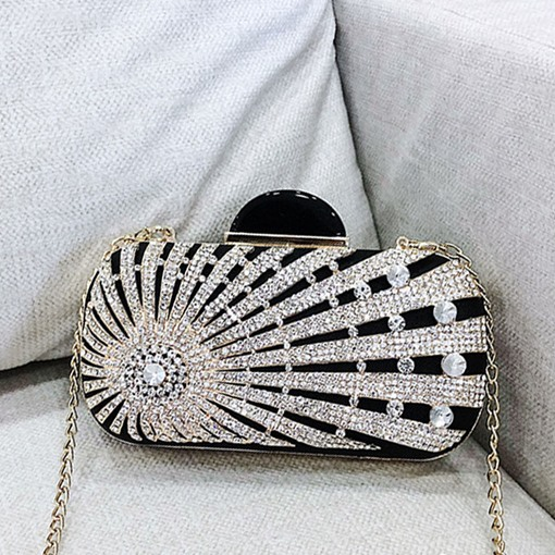 Rhinestone Versatile Clutches & Evening Bag