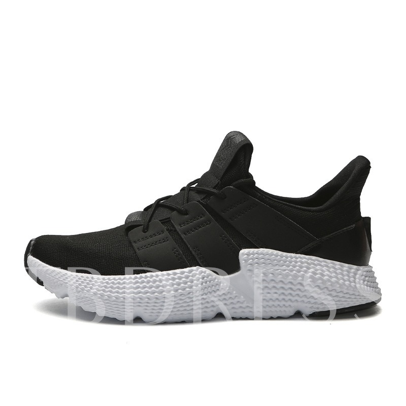 Lace-Up Low-Cut Upper Round Toe Outdoor Men's Sneakers